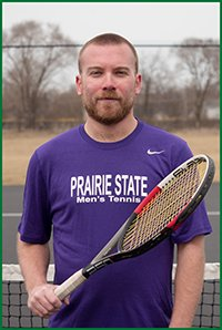 PSC Tennis Team Player: Justin Horvath