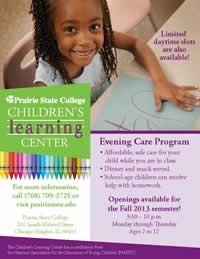 Prairie State College's Children's Learning Center