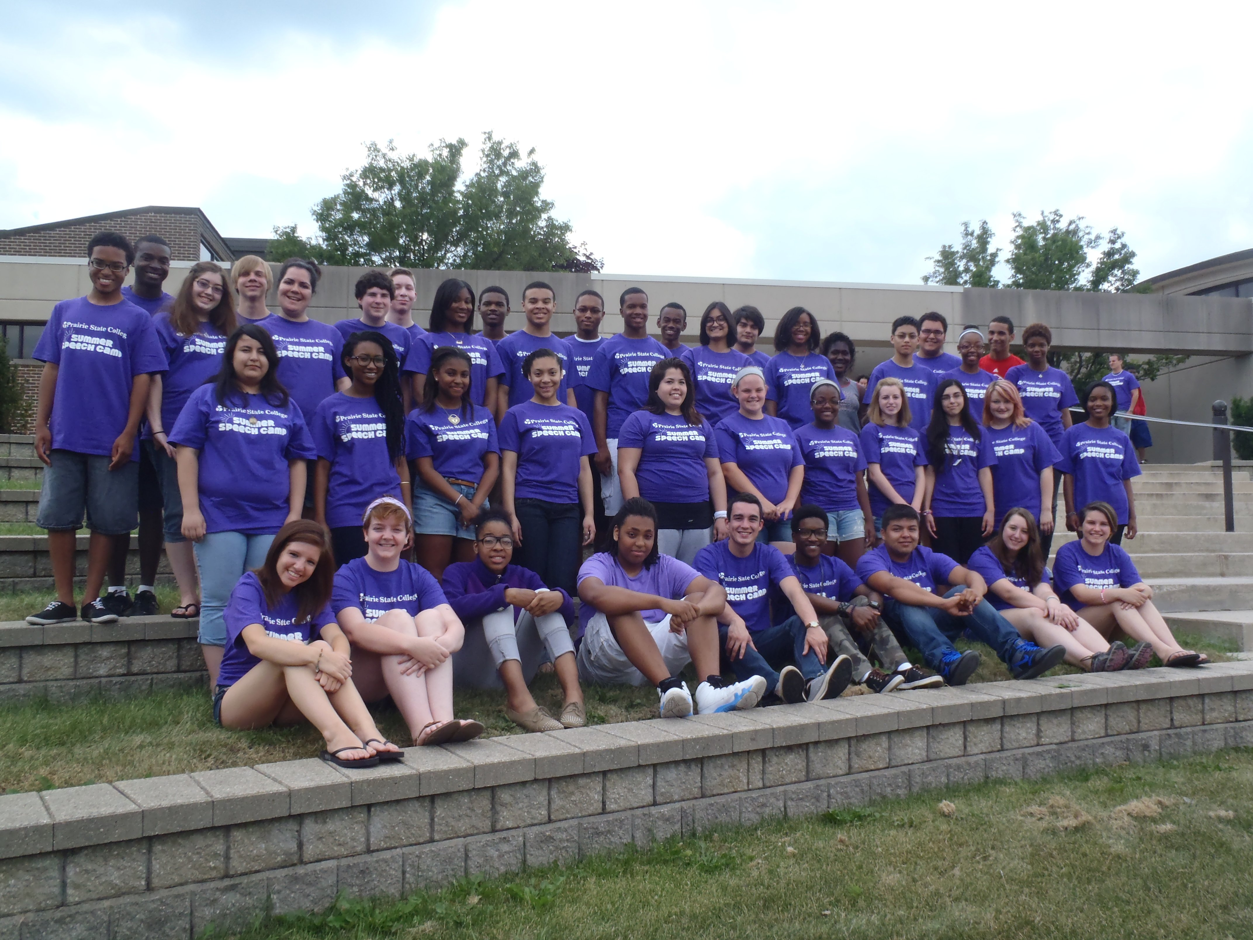 Pictures from previous PSC Summer Speech Camps