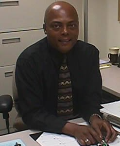 Associate Professor and Communication Coordinator Elighie Wilson