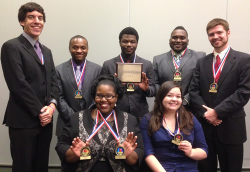 PSC Speech Team Brings Home Fourth Place Honors and Individual Awards