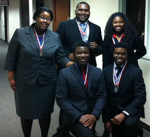 PSC Team Wins Gold in Regional Competition