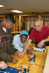 PSC students train to troubleshoot and maintain electrical devices