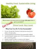 Five Tips for Eating Sustainably