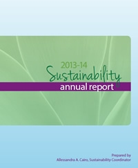 2013-14 Annual Sustainability Report