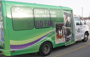 PSC Athletics Bus