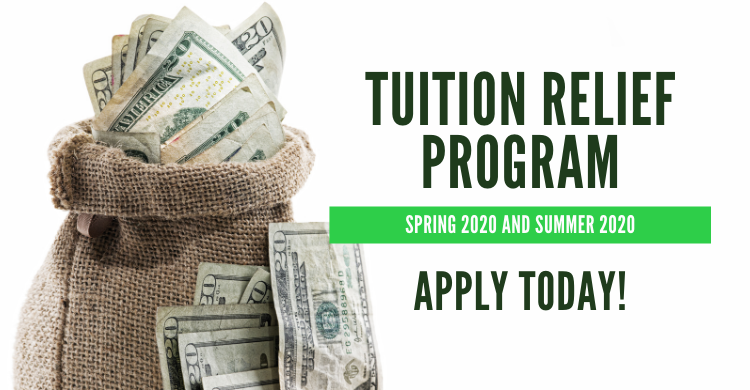 Tuition Relief offered to PSC students with outstanding balances for 2020 spring and 2020 summer semesters. Click to Apply.