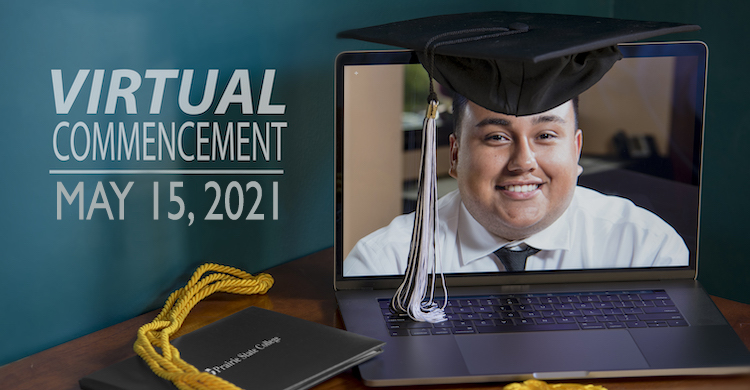 Virtual Commencement is May 15 at PSC