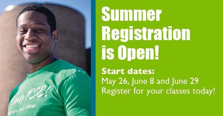 Information about Prairie State College's Summer 2020 semester