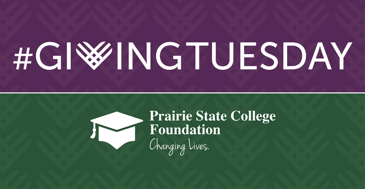 Support the Prairie State College Foundation on Giving Tuesday