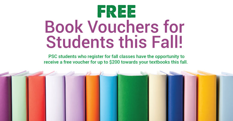 Free book vouchers for students this fall!