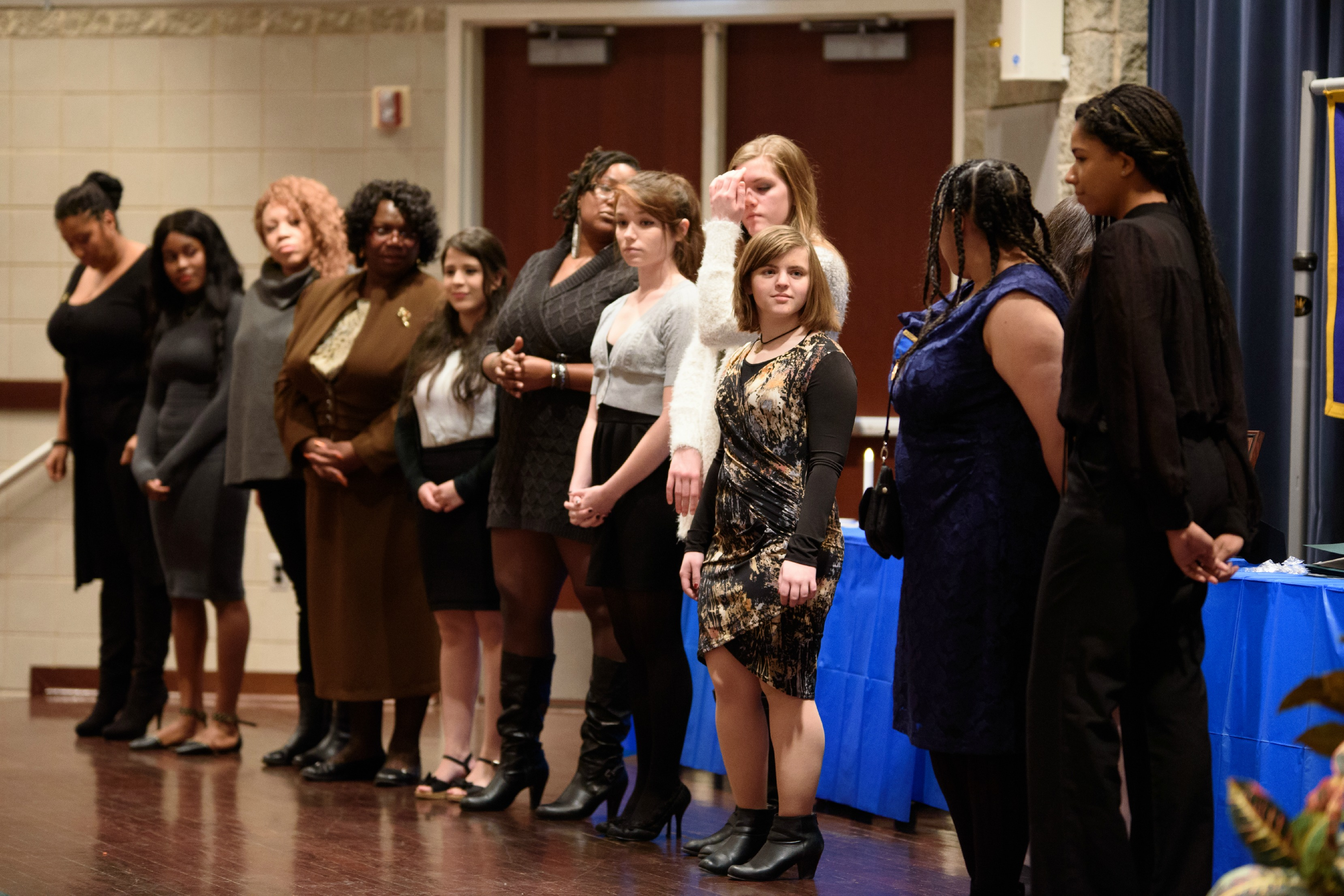 honor society induction