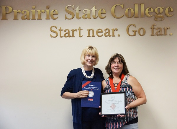 Dr. Marie Hansel and Assistant Professor Julie Wedster