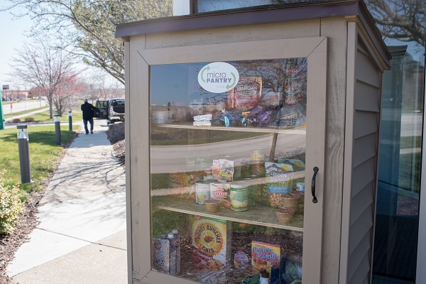 PSC Matteson Area Center 'Micro Pantry' Installed to Help Residents in Need