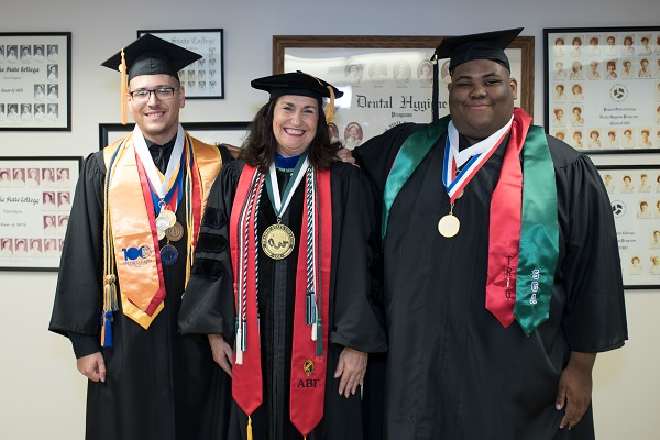 PTK recognition at commencement 2018