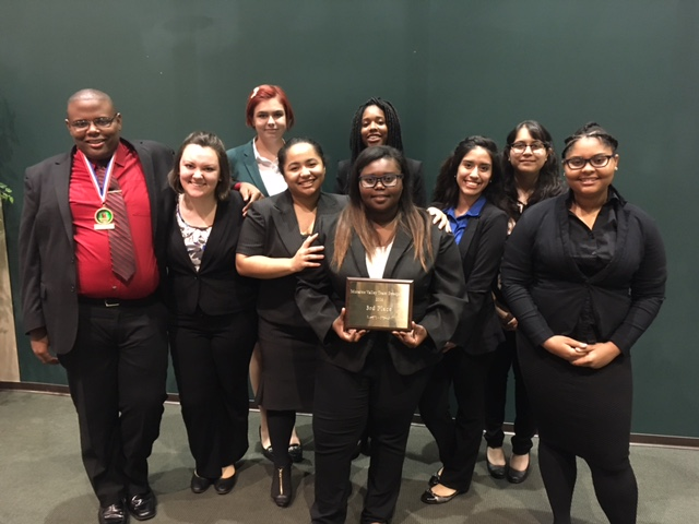 PSC speech team at Moraine Valley