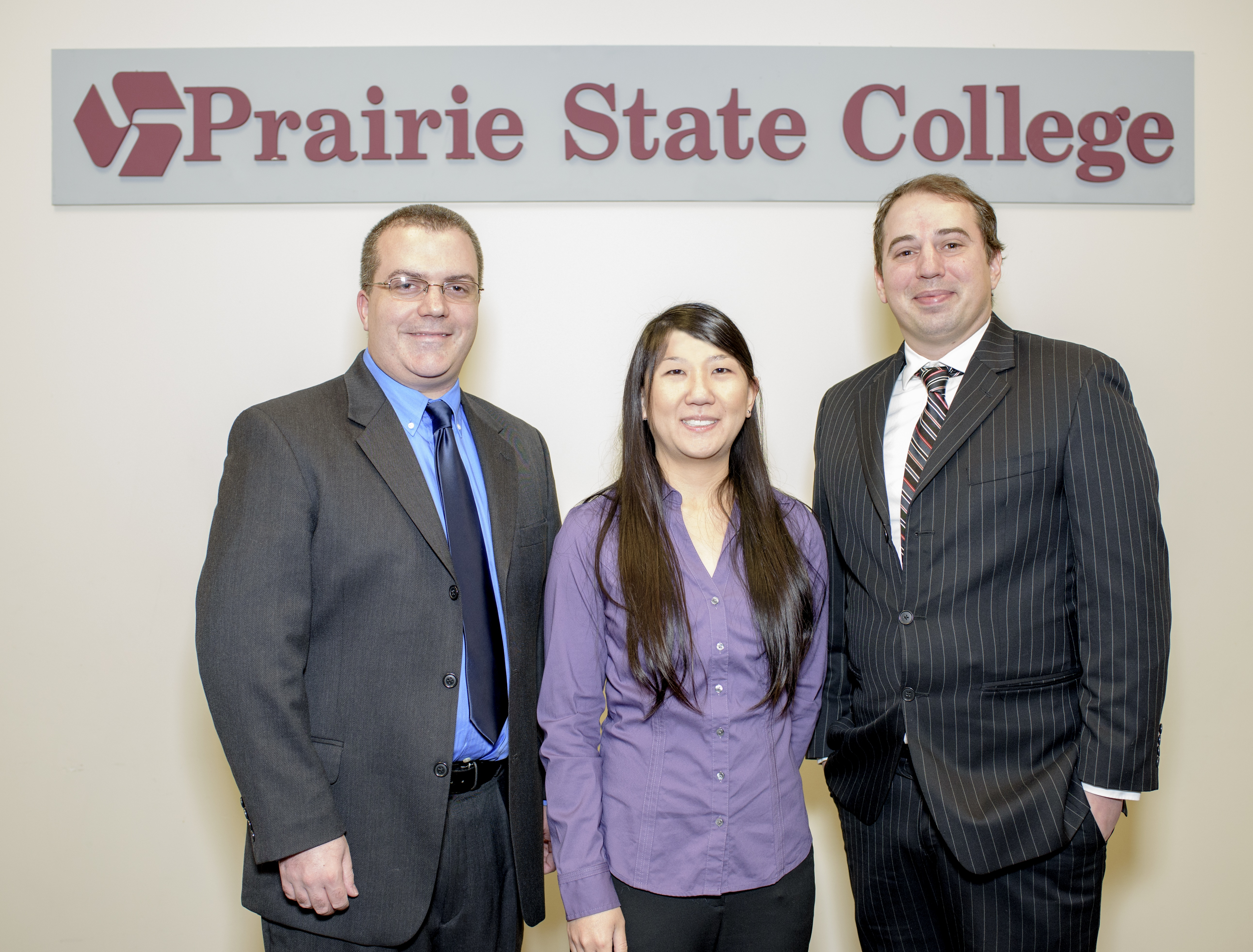 Three Awarded Tenure at Prairie State College