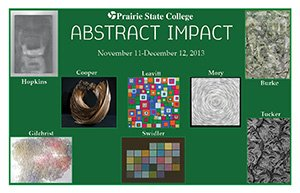 Abstract Impact Postcard
