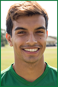 PSC Men's Soccer Team Player: Adrian Zaragoza