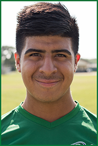 PSC Men's Soccer Team Player: Carlos Candia