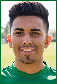 PSC Men's Soccer Team Player: Eric Mendoza