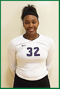 PSC Volleyball Player: Jala Wilson