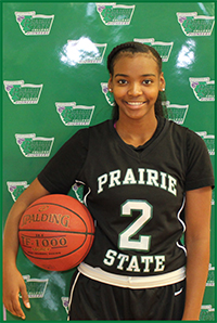 PSC Women's Basketball Team Player Tiffini Swopes