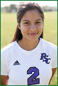 PSC Women's Soccer Player: Aide Pastrana