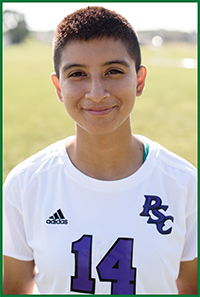 PSC Women's Soccer Player: Violeta Bravo