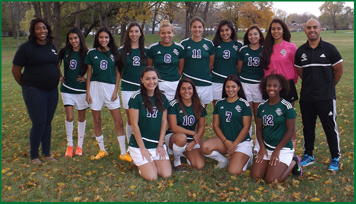 2016-17 Women's Soccer Team