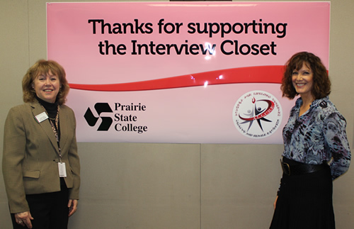 Women's Interview Closet at PSC