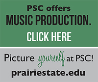 Picture yourself at PSC! Music Production