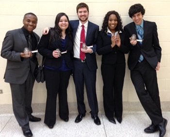 PSC Speech Team Brings Home Sixth Place Honors and Individual Awards During College of Lake County Tournament