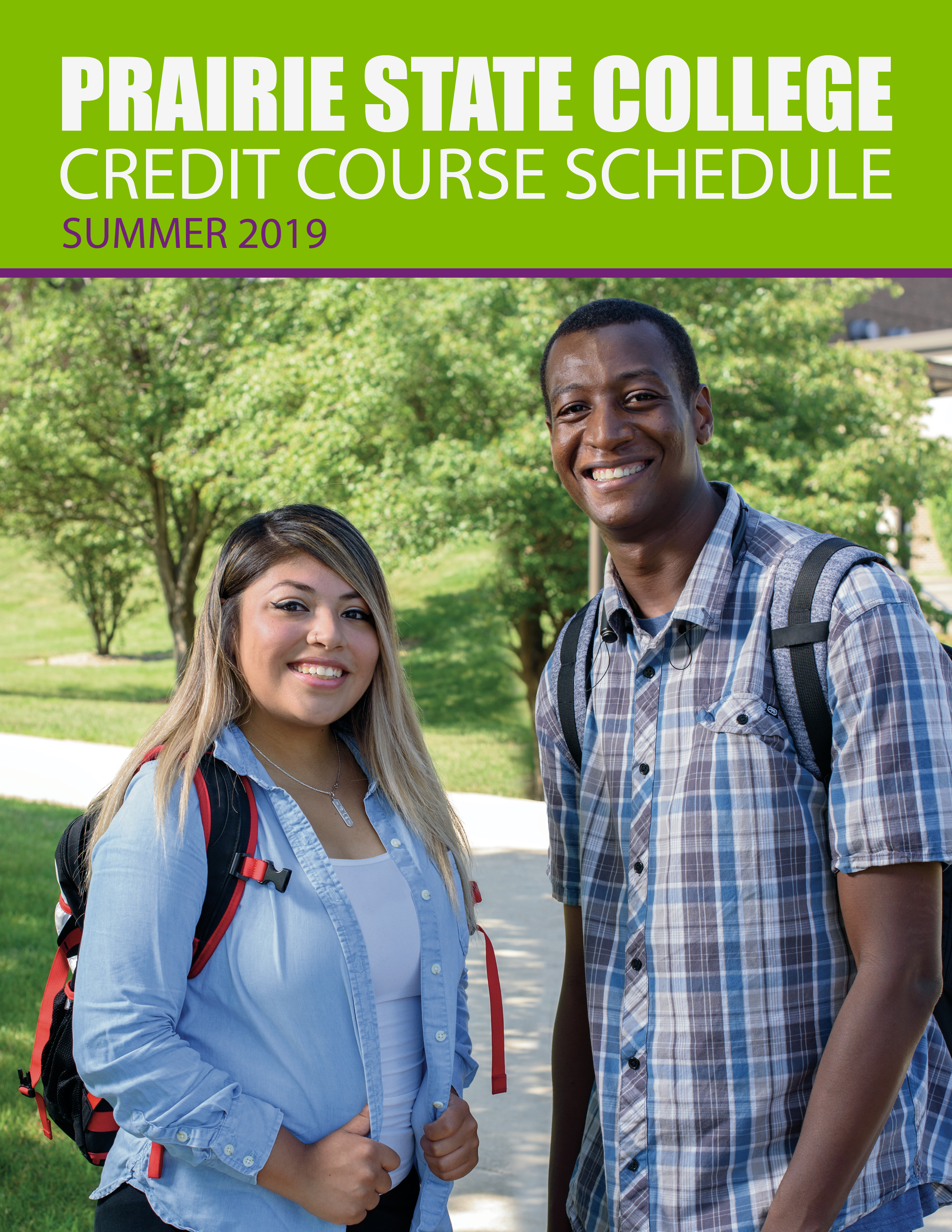 Summer Credit Schedule