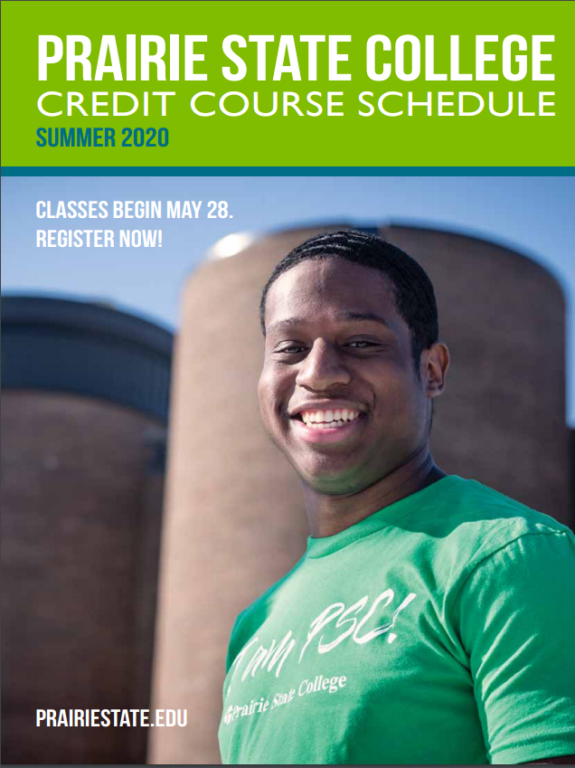 Summer 2020 Credit Course Schedule Cover