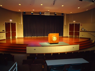 PSC Barnes & Noble Auditorium Stage