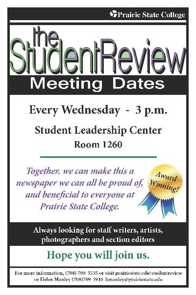Student Review Meeting Flyer