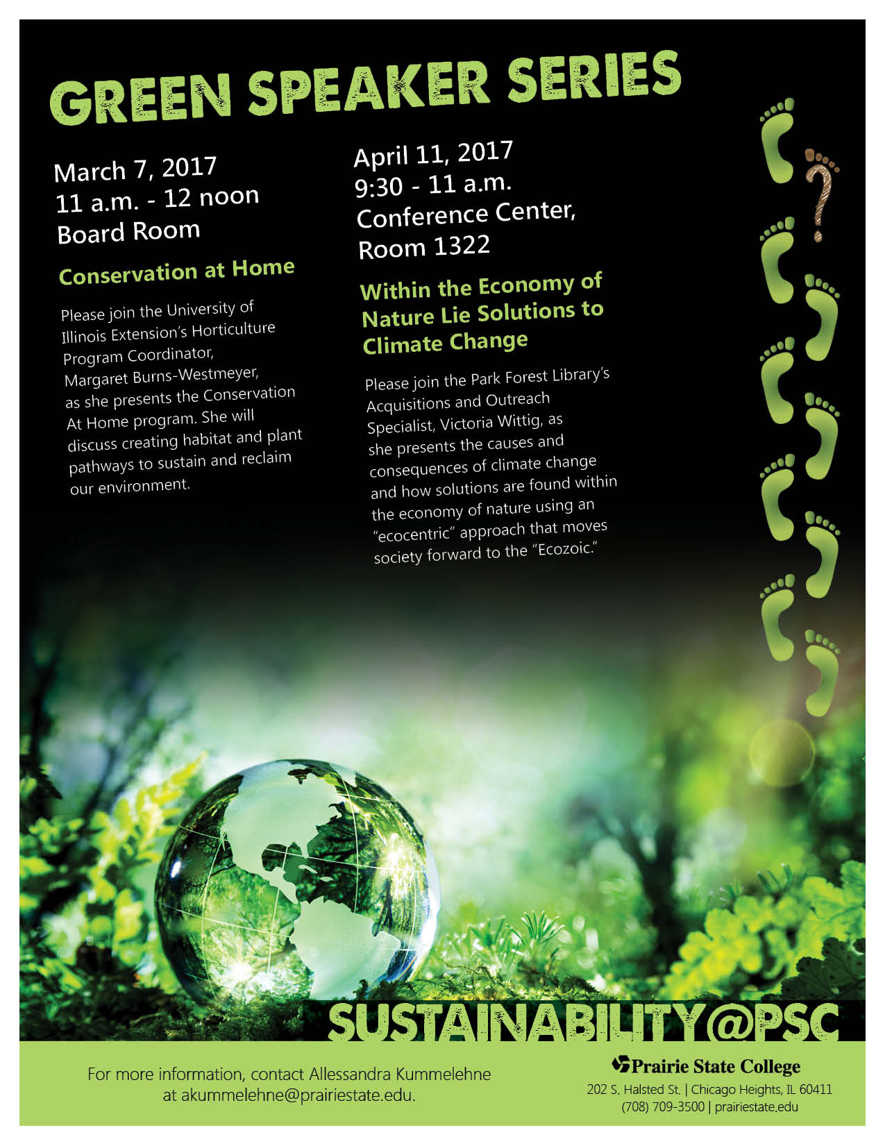 Green Speaker Series: Within the Economy of Nature Lie Solutions to Climate Change