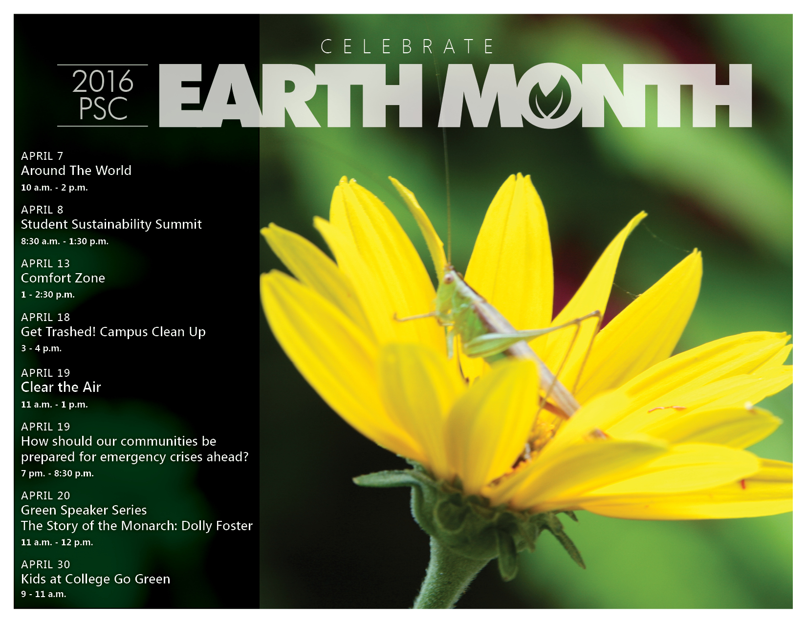 Earth Month 2016
