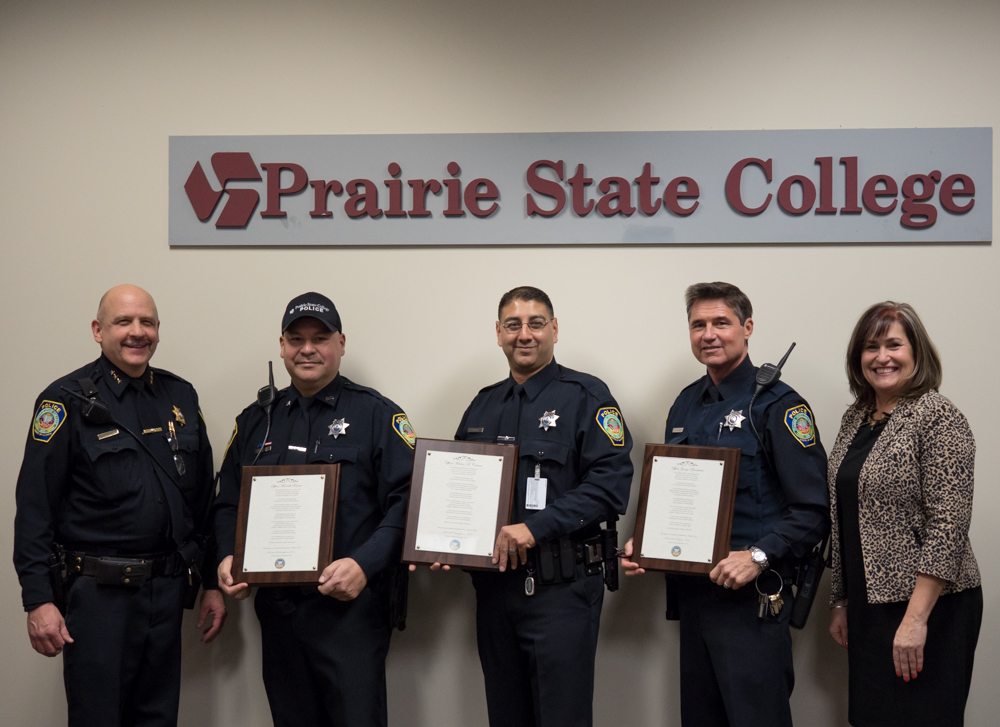 Three New Officers Join PSC Police and Campus Safety Department