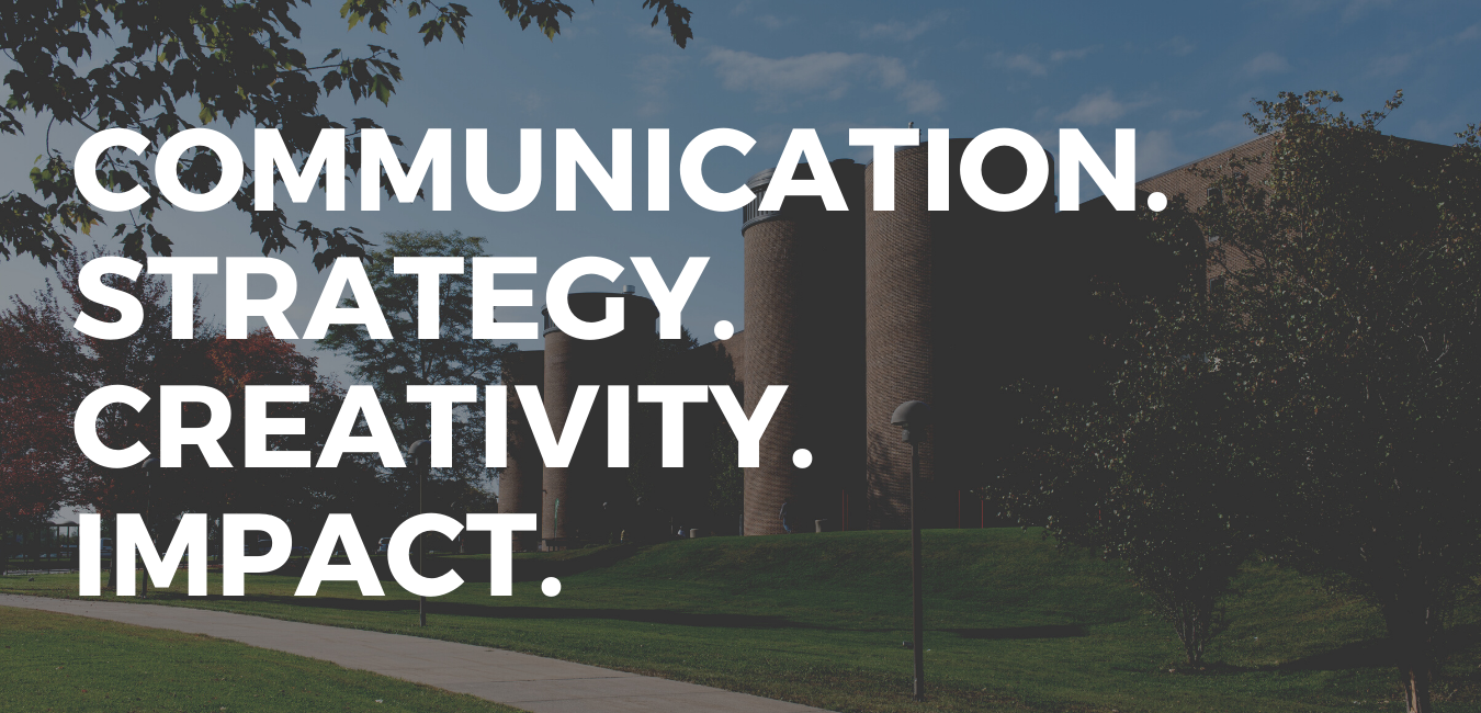 Communication.Strategy.Creativity.Impact. Public Relations and Marketing at Prairie State College
