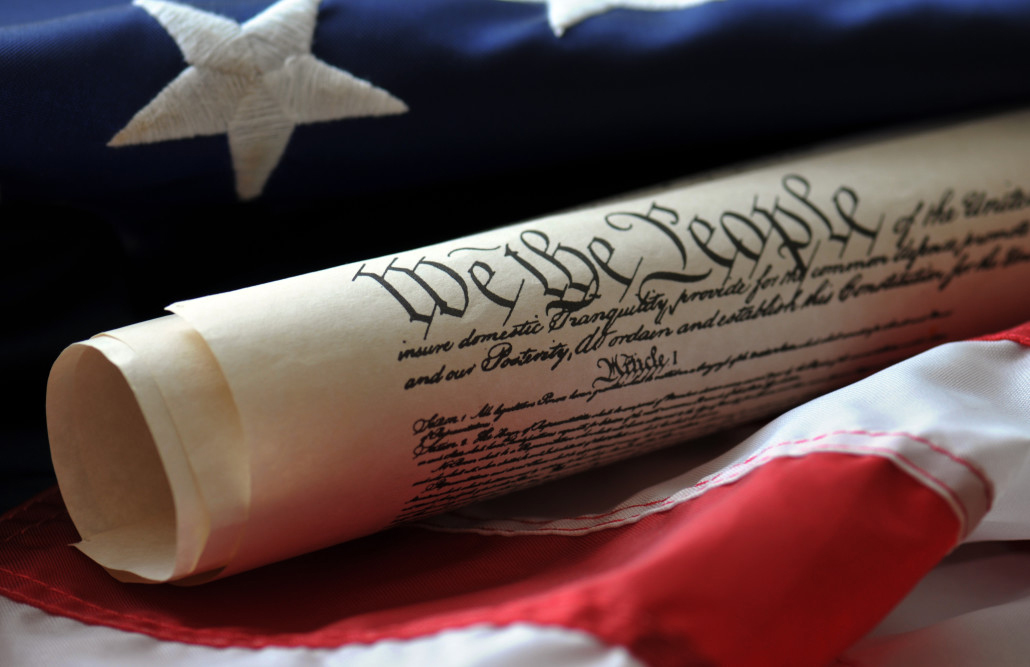 We the people constitution letter rolled