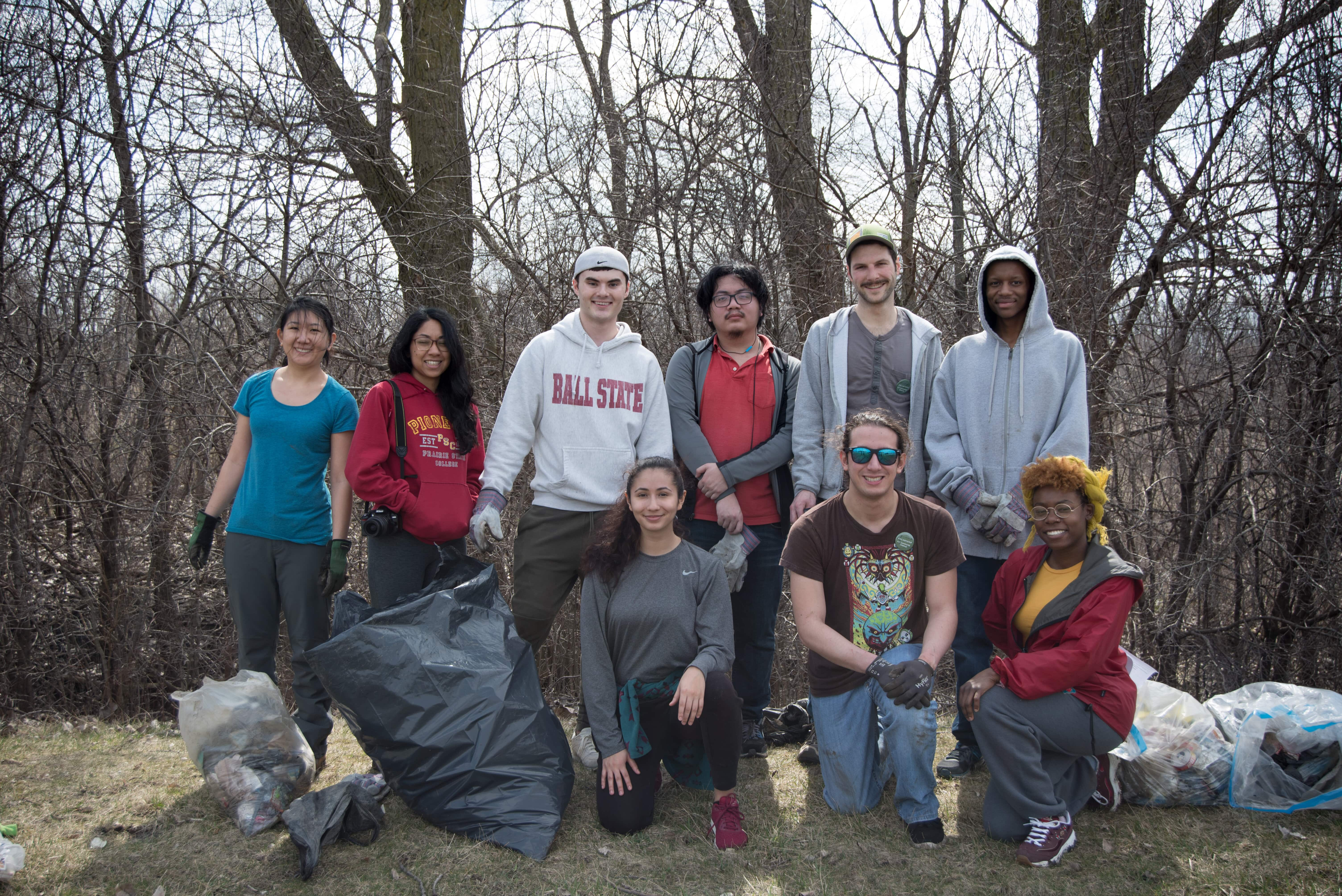 PSC Nature Preserve Cleanup