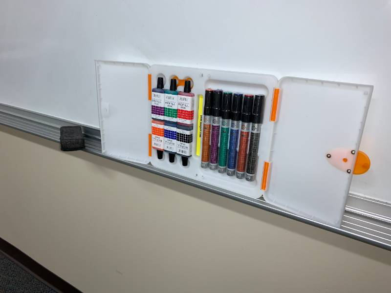 Reusable Whiteboard Markers Pilot.