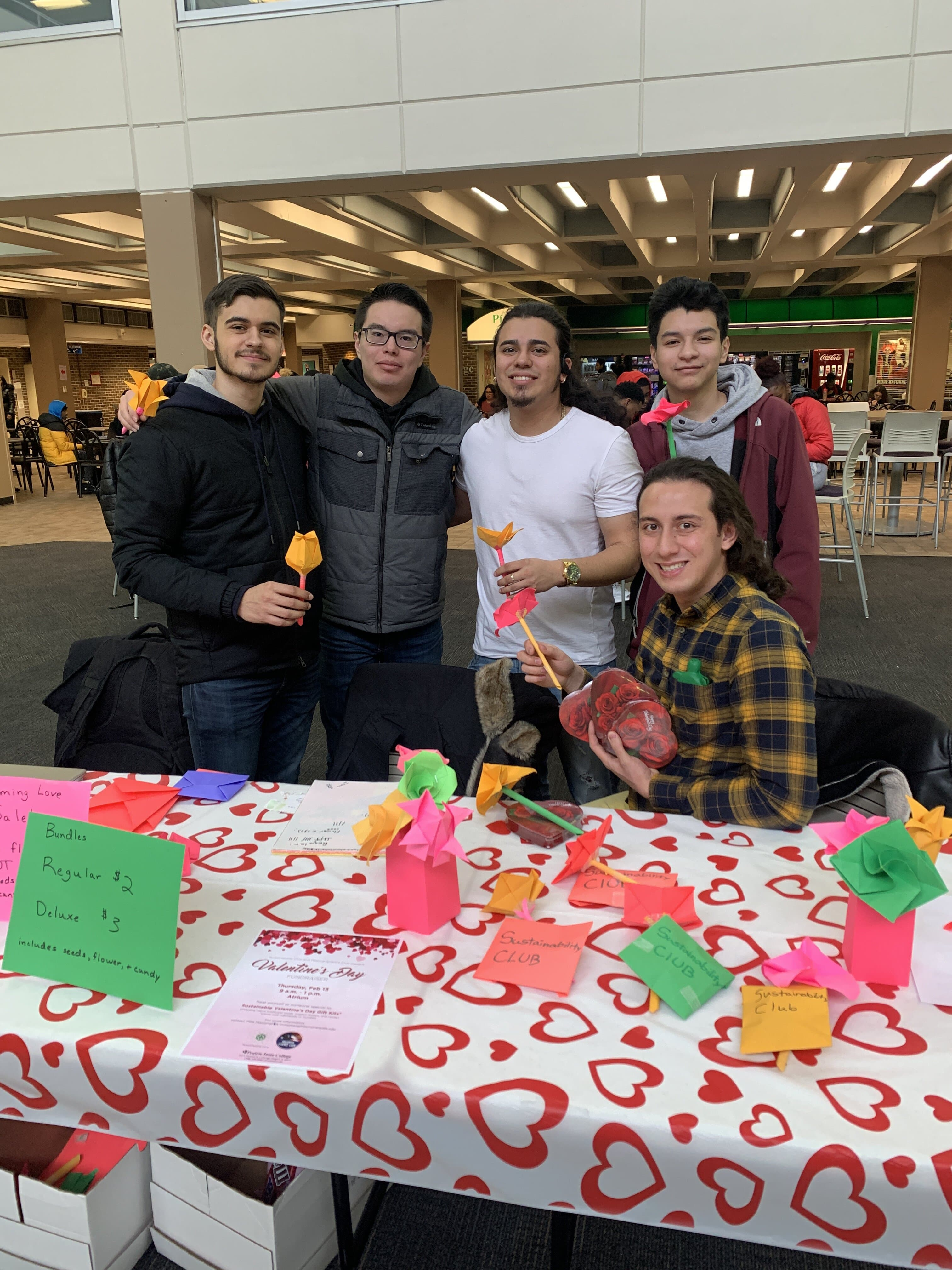 Sustainability Club Valentine's Day Fundraiser