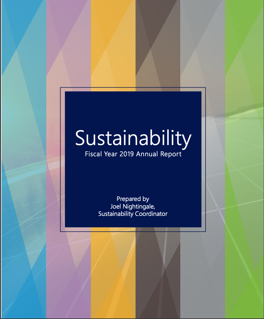 Fiscal Year 2019 Sustainability Report